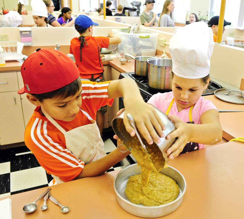 Kid chefs learn to cook Cajun cuisine in UL-Lafayette summer class _lowres