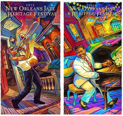something cool about 2018 new orleans jazz fest poster you might not