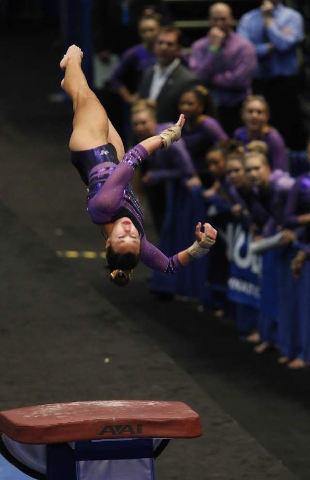With Ashleigh Gnat eyeing perfection third straight week, LSU opens tough, five-week SEC slate _lowres