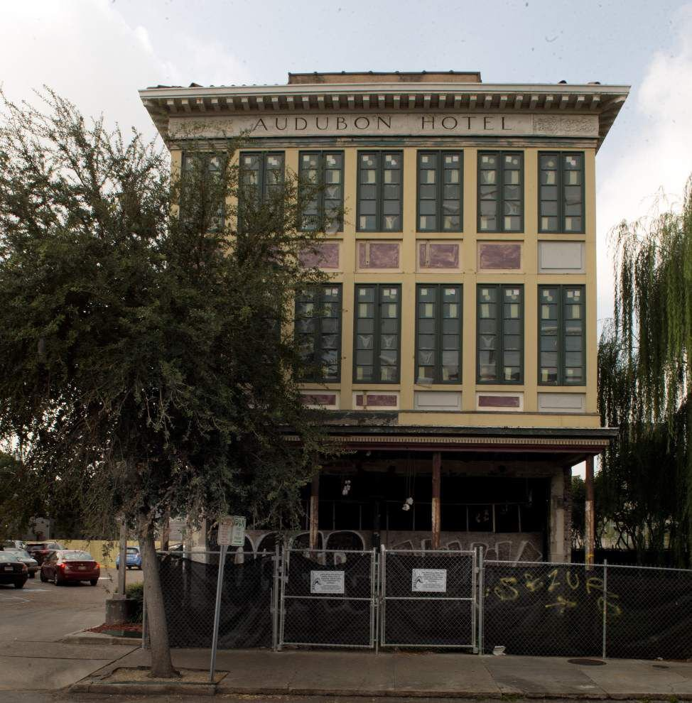 Long-vacant Audubon Hotel on St. Charles Avenue plans one-story addition, new facade _lowres