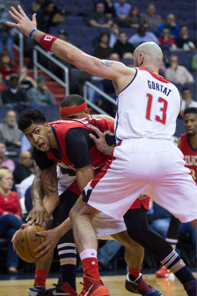 Alvin Gentry credits Wizards defense with limiting Anthony Davis _lowres