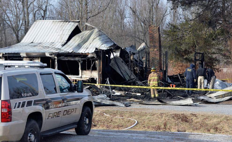Police: 9 bodies recovered after Ky. house fire _lowres