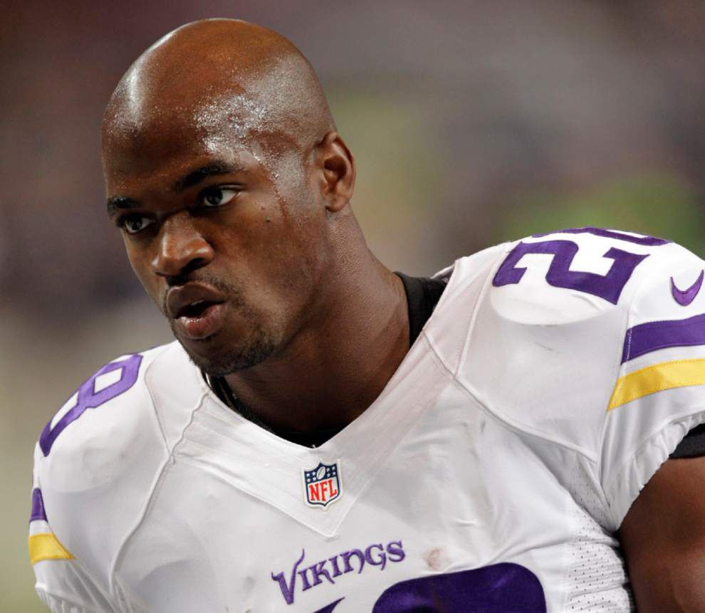 Vikings' offense struggles without RB Peterson _lowres
