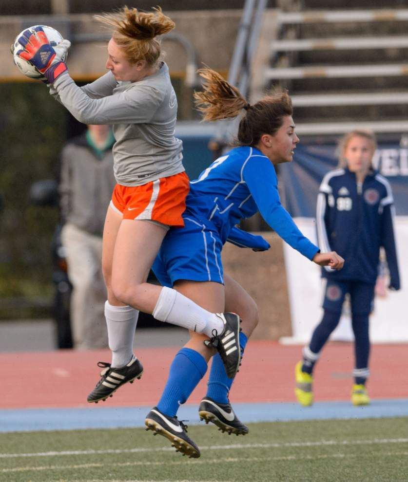 Photos: Champions! St. Scholastica, St. Paul's celebrate state soccer titles _lowres