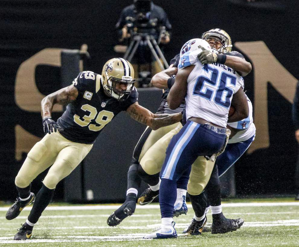 Nick Underhill's analysis: Brandon Browner's stint with the Saints never lived up to the hype, but he was never a good fit for New Orleans _lowres