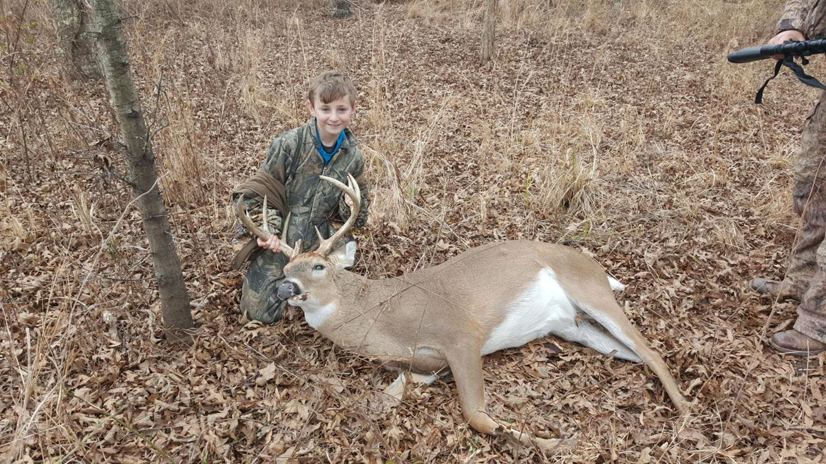 deer hunting with dad 2 day trophy axis deer archery hunt however mostly bucks of this caliber are 5-7 year old deer and dont grow back overnight so please practice and be proficient with your bow or rifle.