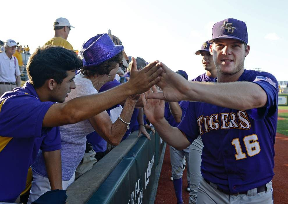 Scott Rabalais: Throwing 'as many zeros as possible,' Jared Poché silences Rice as LSU bats come to life _lowres