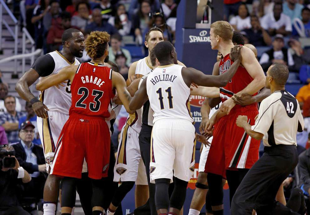 Alvin Gentry says there was no malicious intent to Kendrick Perkins' flagrant foul _lowres