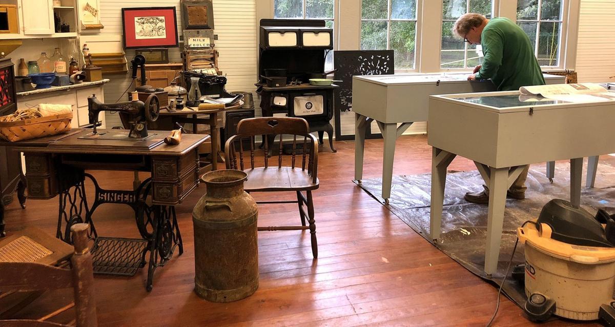 Getting Bayou Lacombe Museum ready photo courtesy Louisiana.jpg