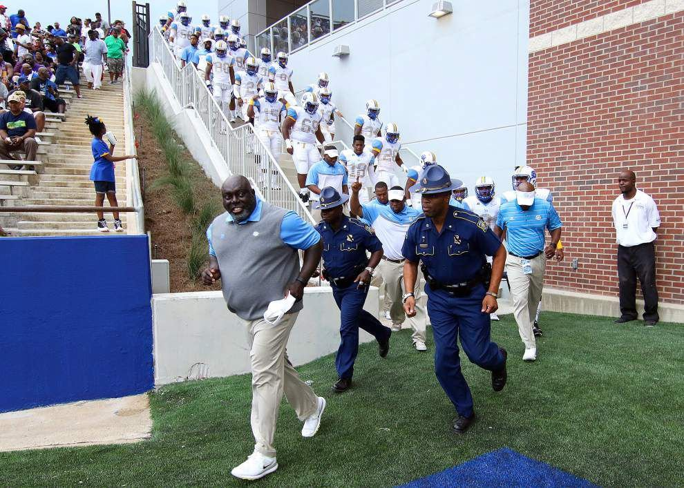 Dawson Odums says it's time for Southern to look forward, not back _lowres