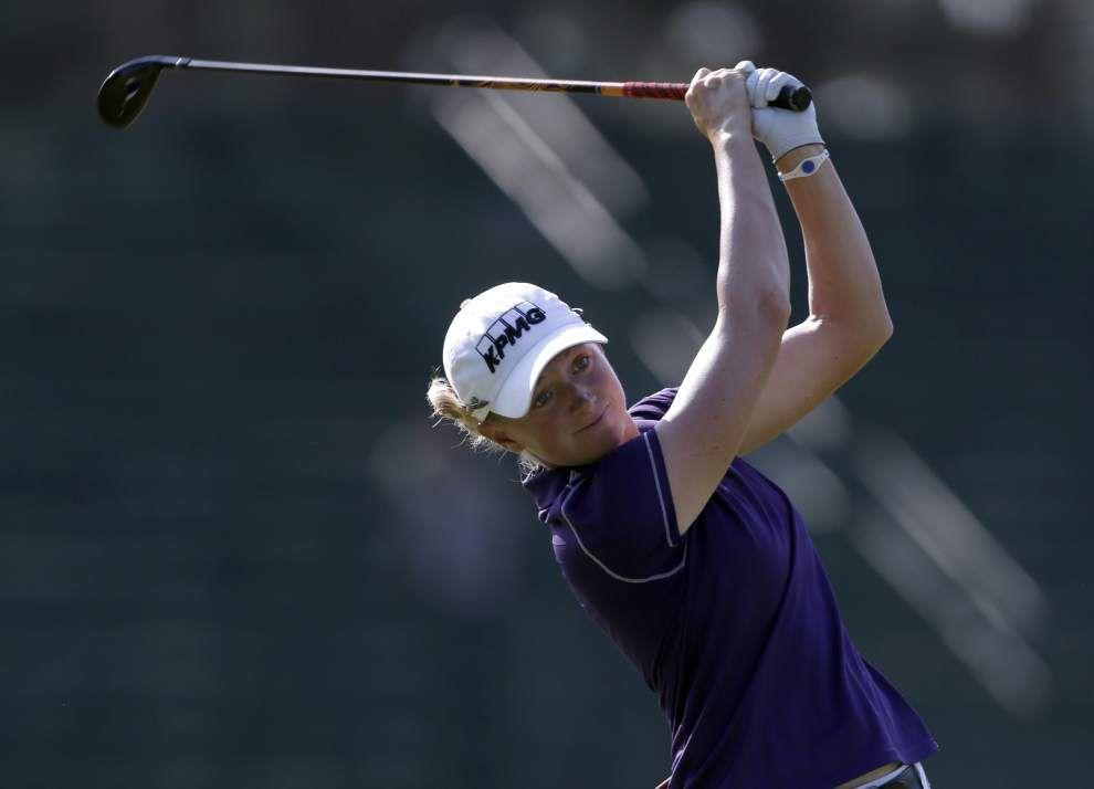 Stacy Lewis leads at US. Women's Open _lowres