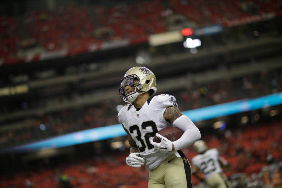 Saints waive receiver Joseph Morgan, bench Kenny Vaccaro _lowres