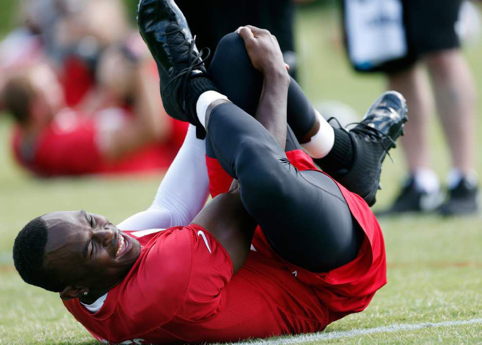 Falcons' Julio Jones says recovery feels like 'eternity' _lowres