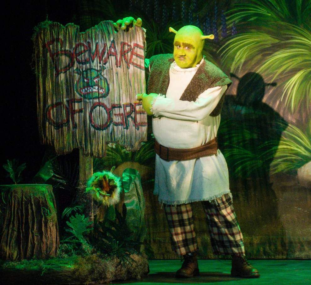 Review: Giggles don't stop at Rivertown's goofy 'Shrek' _lowres