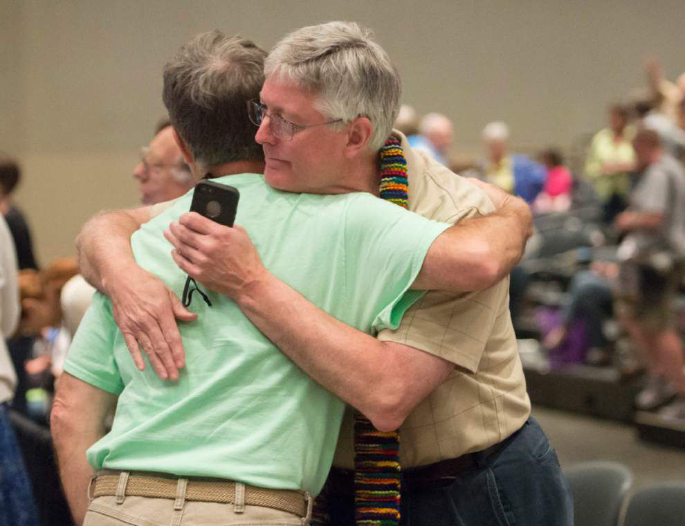 Presbyterians approve gay marriage in church constitution _lowres