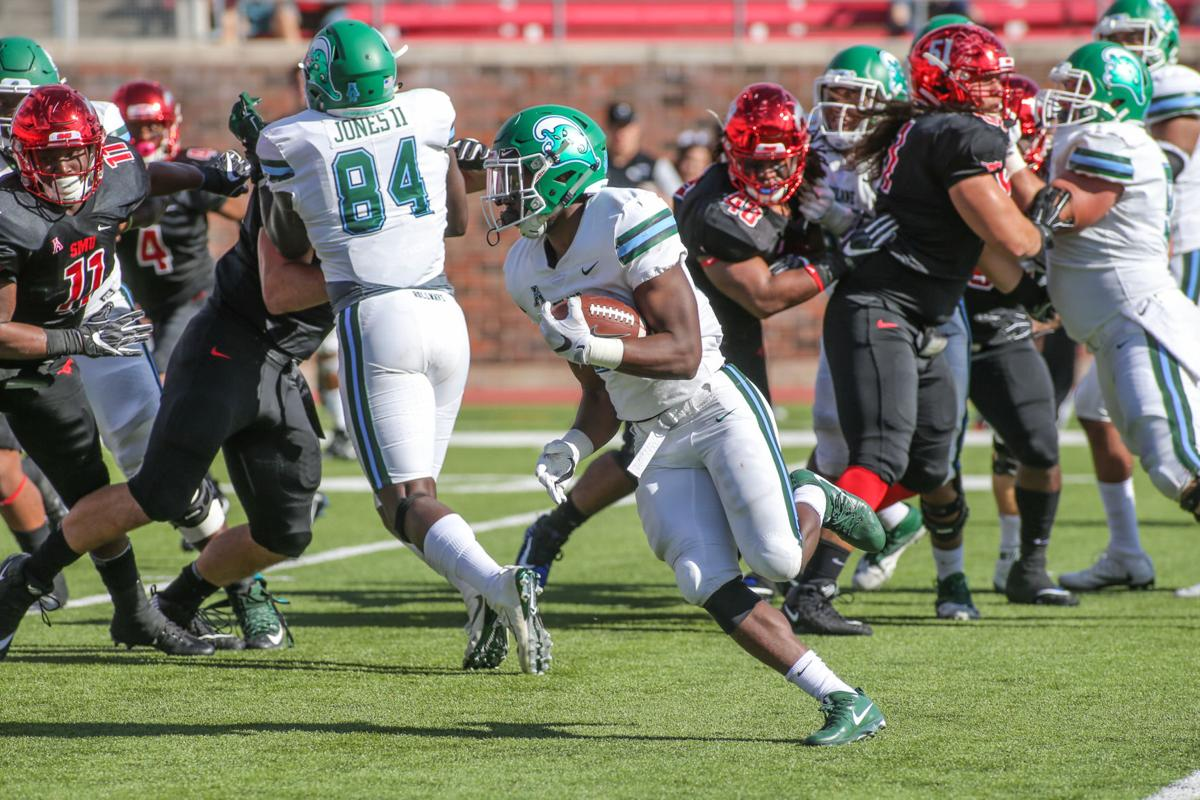 COLLEGE FOOTBALL: NOV 25 Tulane at SMU