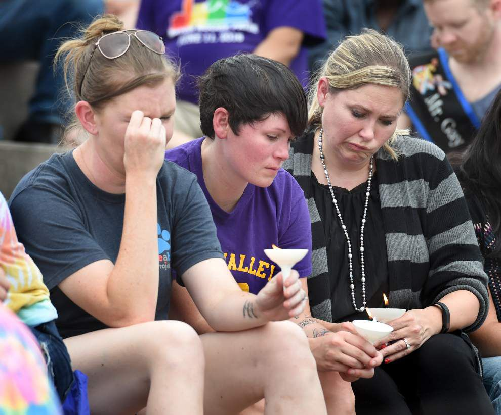 'It was healing': Baton Rouge residents, officials mourn victims of Orlando nightclub slaying _lowres