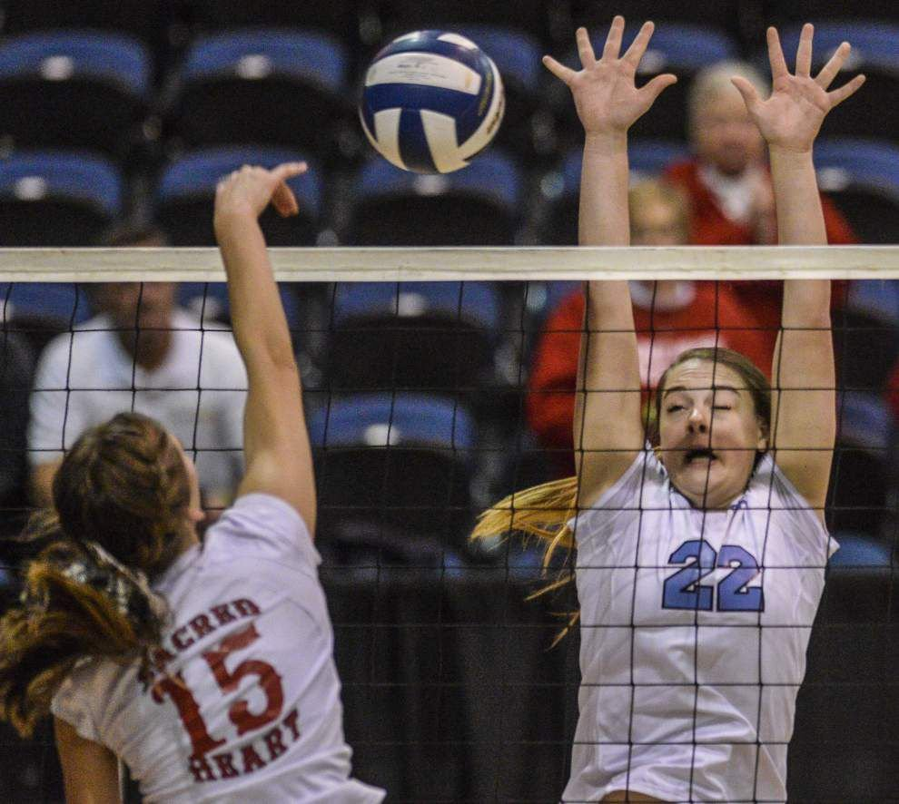 Photos: LHSAA Volleyball Friday _lowres