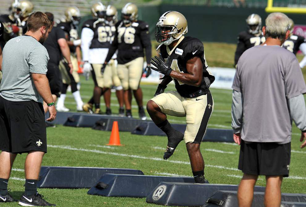 Reports from the Saints' Tuesday practice _lowres
