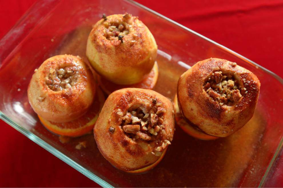 Gourmet Galley: Baked apples provide perfect pinch of sweet _lowres