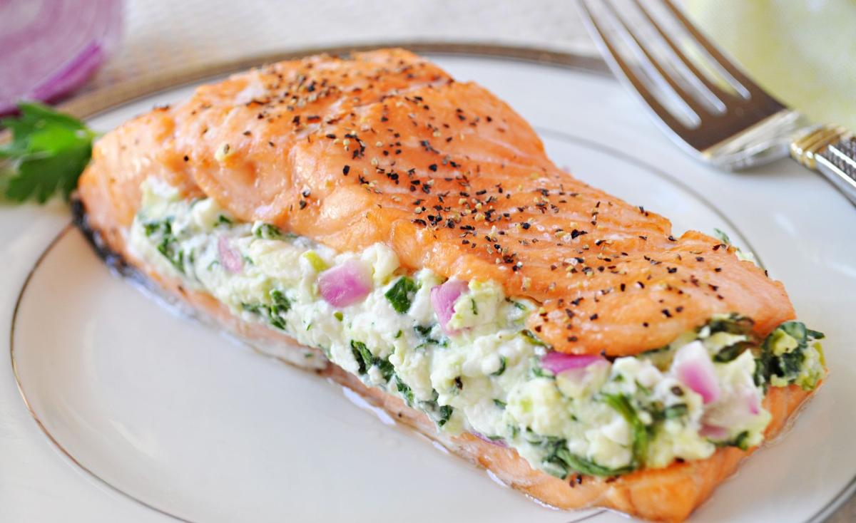 Simple Salmon with SPinach ed.jpg