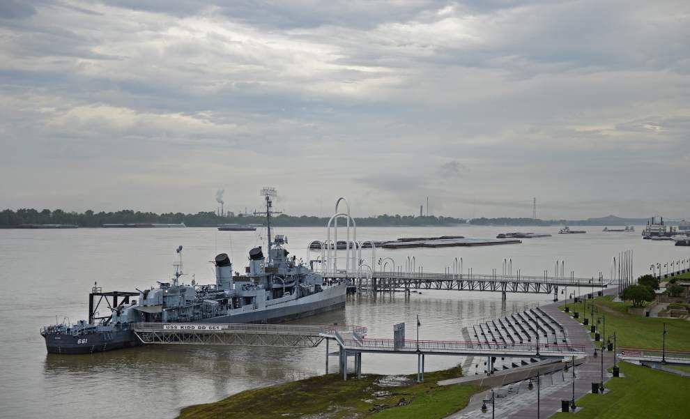 USS Kidd embarks on 'war bond' fundraising effort to keep WWII-era destroyer afloat in Baton Rouge _lowres
