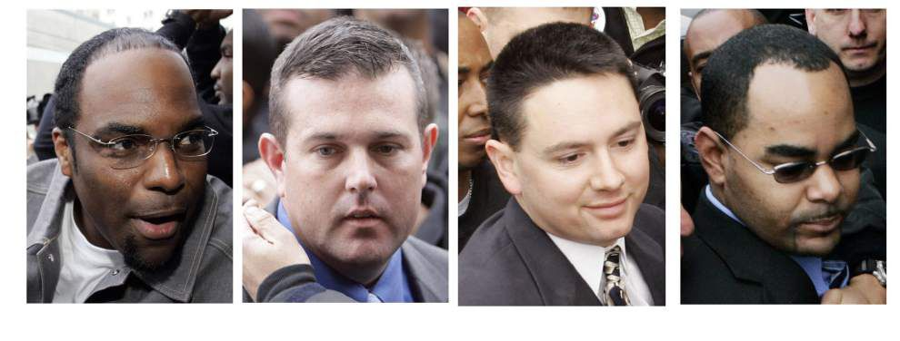 Four former cops seek bail while awaiting retrial in Danziger case _lowres