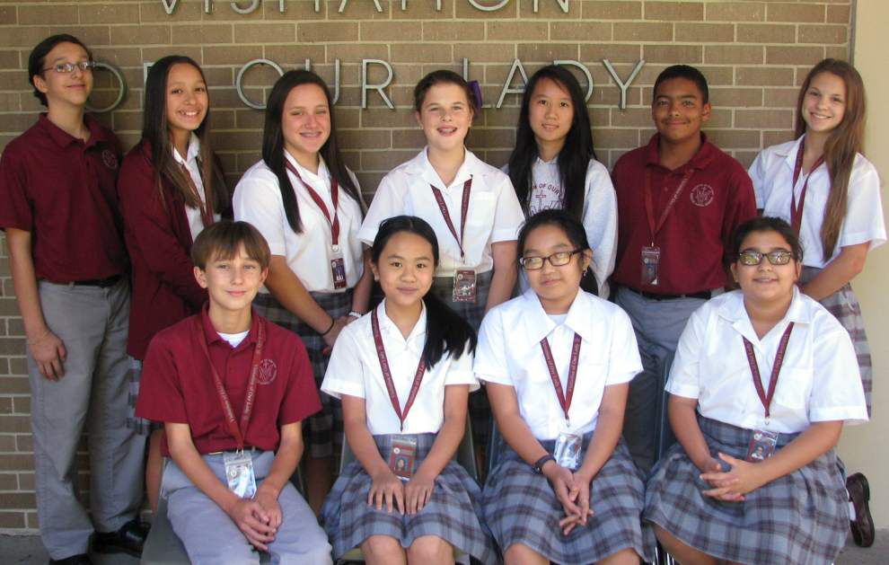 Visitation of Our Lady students participate in Duke Talent Identification Program _lowres