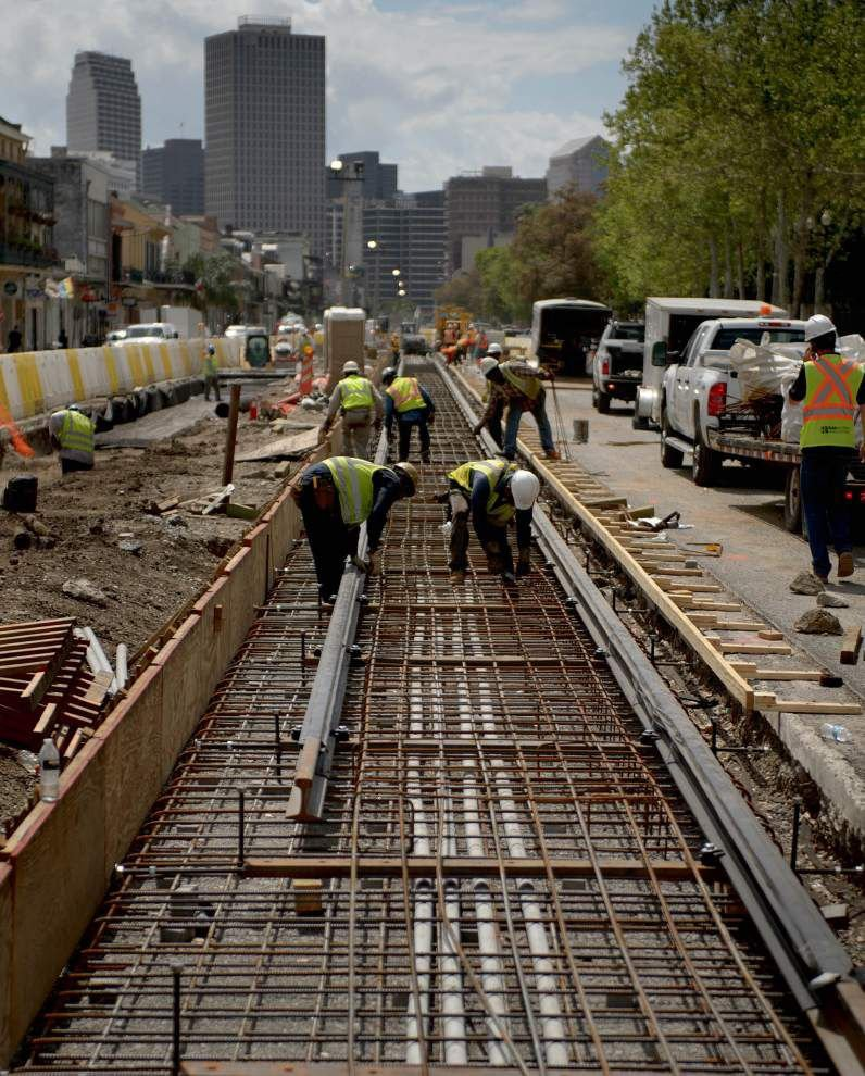 Work on Rampart streetcar line to cause closures, detours around Canal Street _lowres