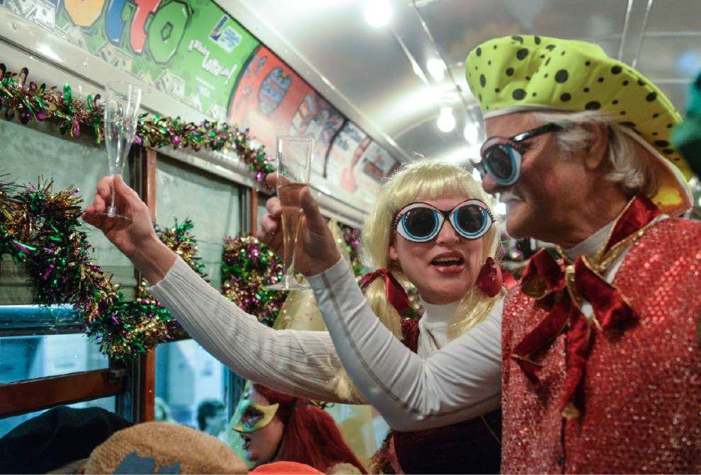 It's Carnival time! Mayor Mitch Landrieu, Rex, Zulu royalty kick off Mardi Gras _lowres
