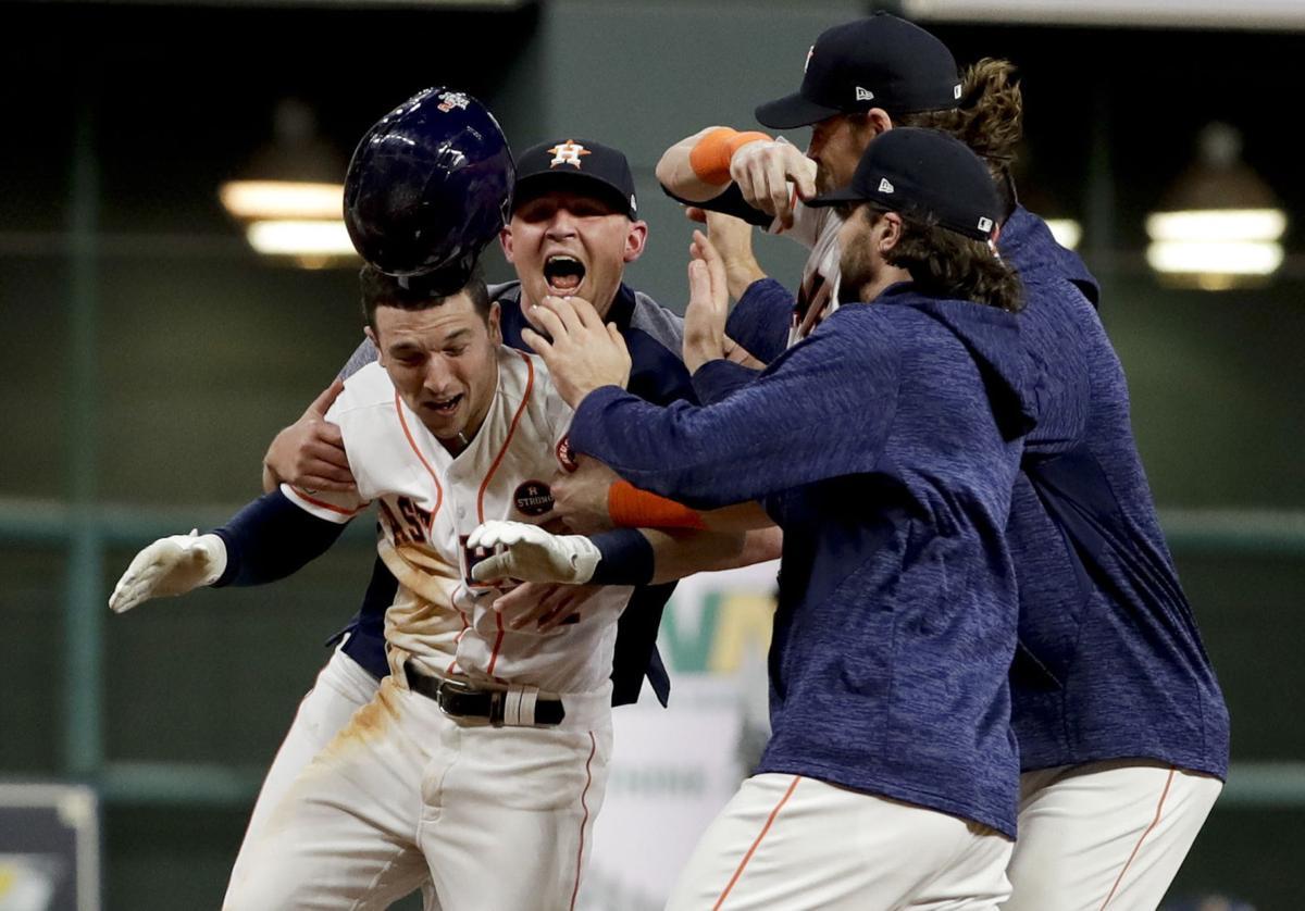 APTOPIX World Series Dodgers Astros Baseball