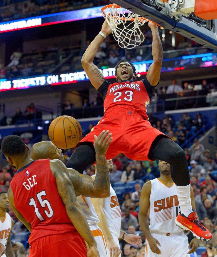 Pelicans forward Anthony Davis works his way through rehab _lowres