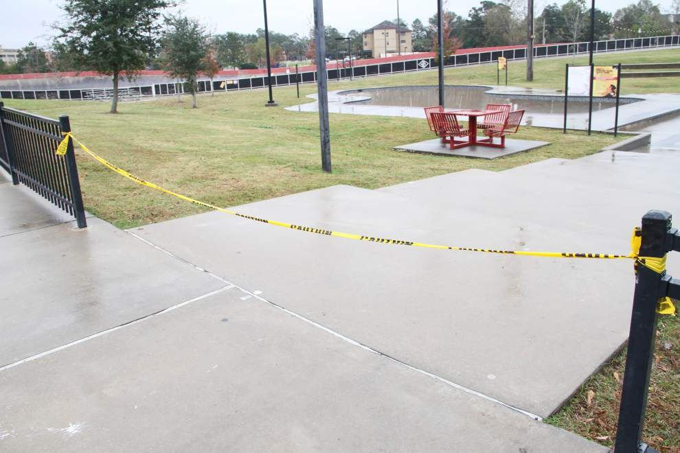 Keep it clean: BREC officials hold the line on vandalism, say Perkins Road skate park won't reopen until someone removes graffiti' _lowres