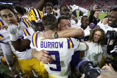 The story of Joe Burrow and Ed Orgeron: Why this duo is 'forever linked' • Part I