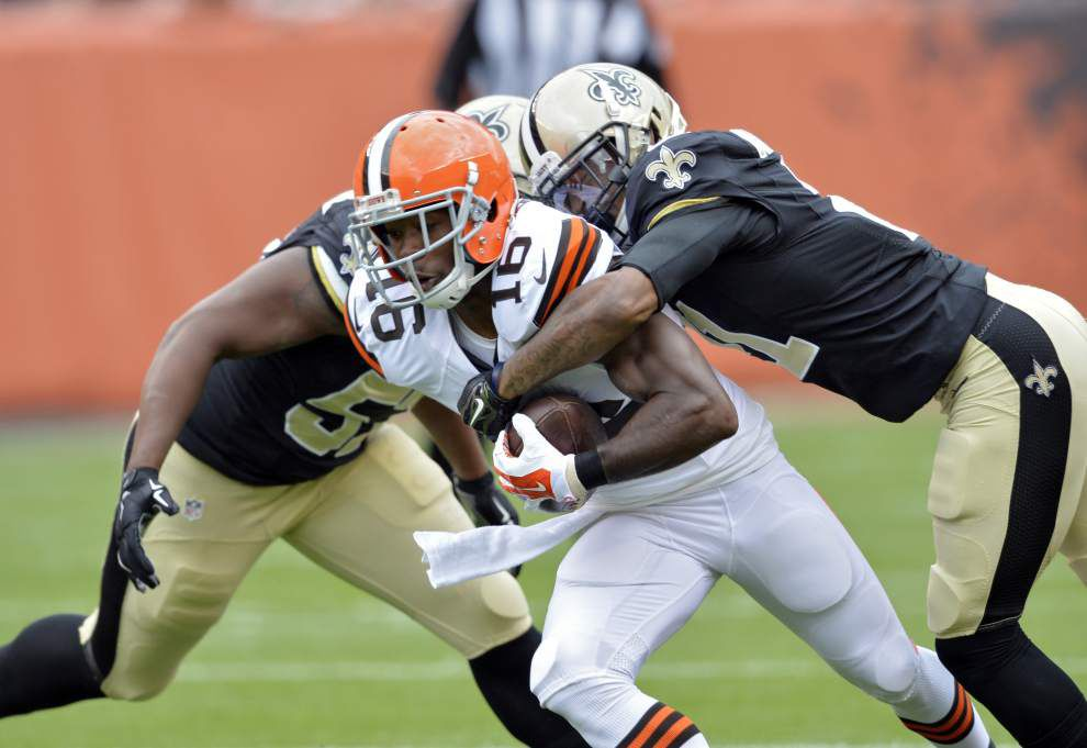 Instant Replay: Browns 26, Saints 24 _lowres