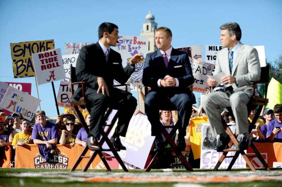 Kirk Herbstreit confirms that College Game Day will, indeed, be at LSU-Wisconsin season opener _lowres