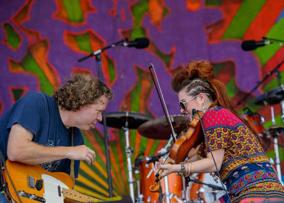 Photos: Brilliant weather, great music (and of course some dancing) kick off Jazz Fest's second weekend _lowres
