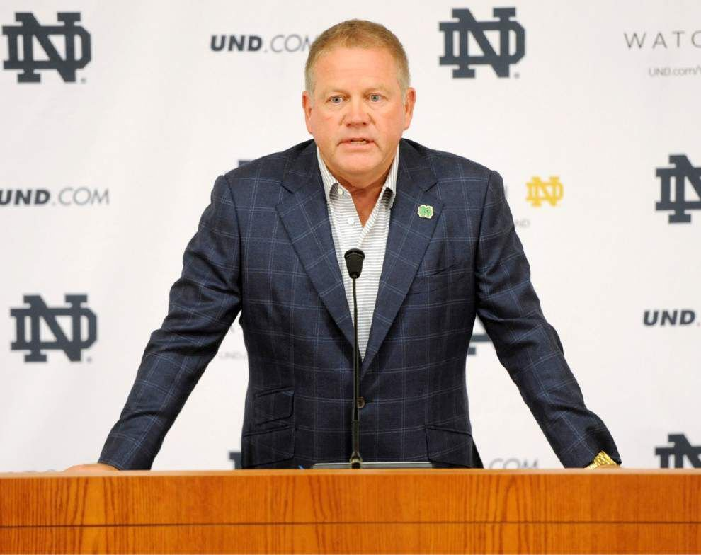 Notre Dame investigating four for 'academic dishonesty' _lowres