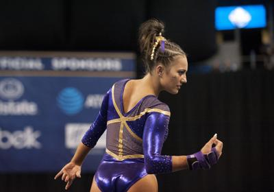 How LSU's Lexie Priessman relies on passion, persistence to get through pains of gymnastics career