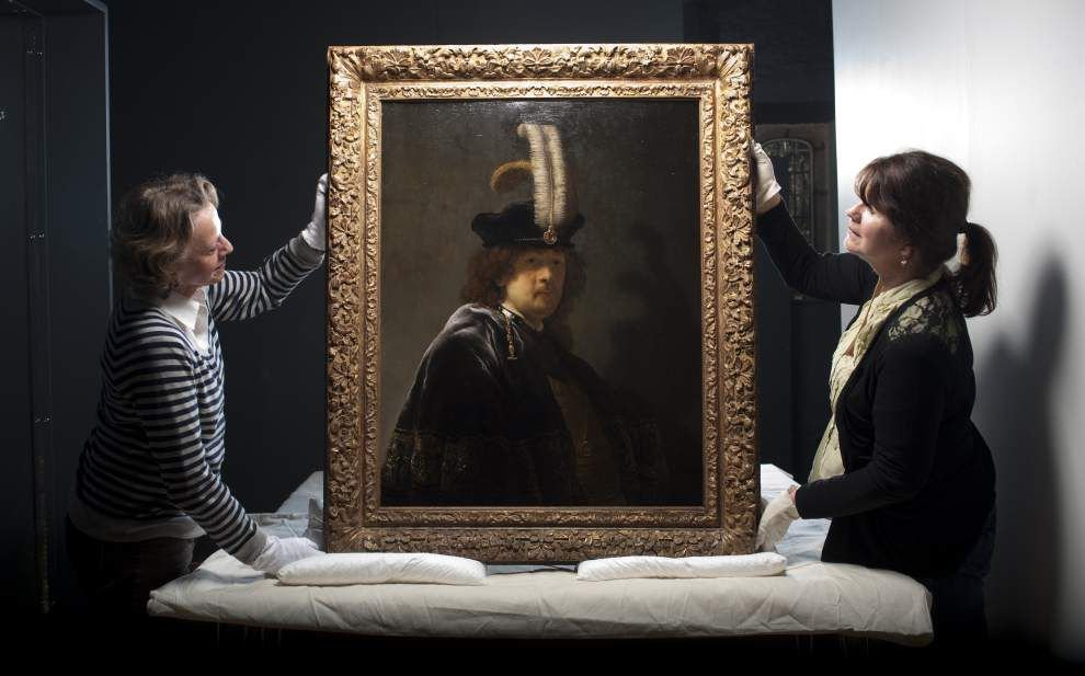 Tests confirm painting is Rembrandt self-portrait _lowres