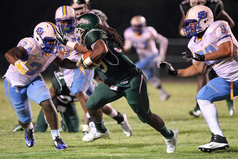 Southern's revamped secondary passes its first test at Mississippi Valley State _lowres
