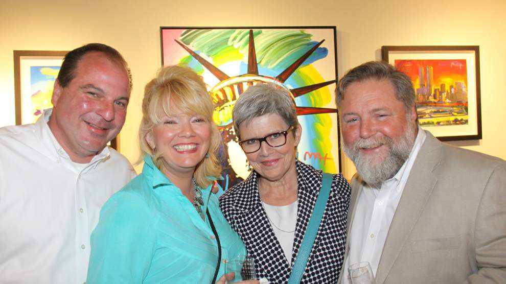 Steven Forster's Party Central: Peter Max at Angela King Gallery _lowres