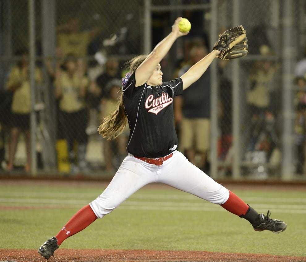 Katie Brignac named Gatorade Lousiana softball player of the year _lowres