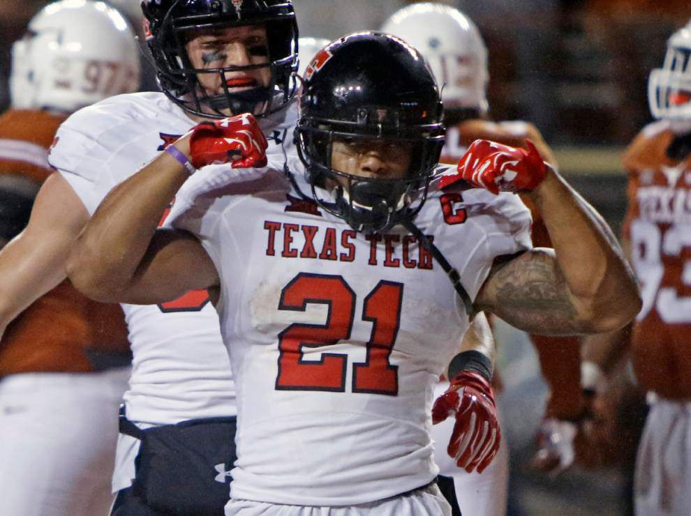 Run 'n' Gun: Pass-heavy Texas Tech also sports potent rushing, diverse attack _lowres