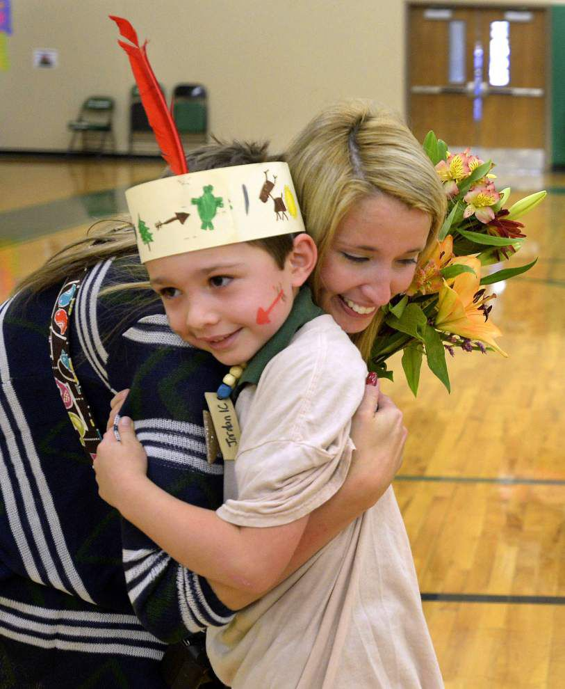 Lessons come closer to home as students learn about Louisiana tribes _lowres