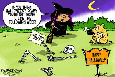 With 705 entries, check out the Halloween treats the winner and finalists came up with in Walt Handelsman's latest Cartoon Caption Contest!!