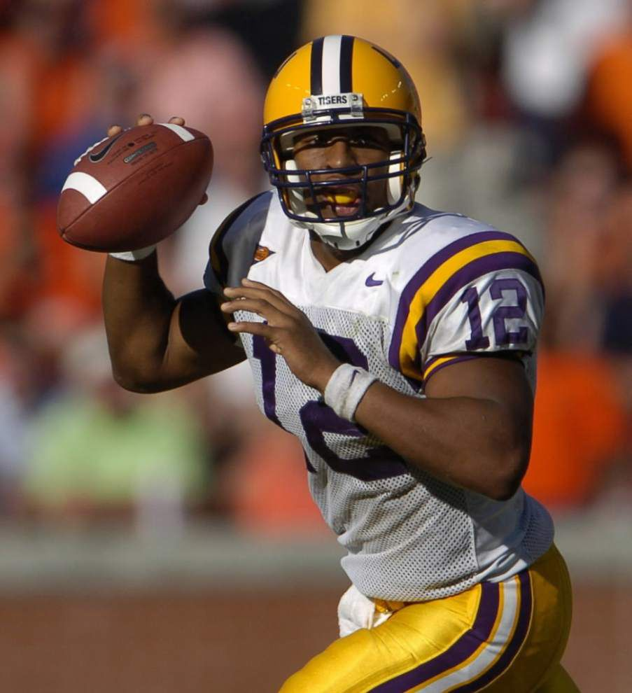 Former LSU quarterback Marcus Randall hired as the new football coach at Southern Lab _lowres
