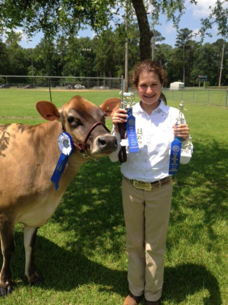Mincey wins showmanship award _lowres