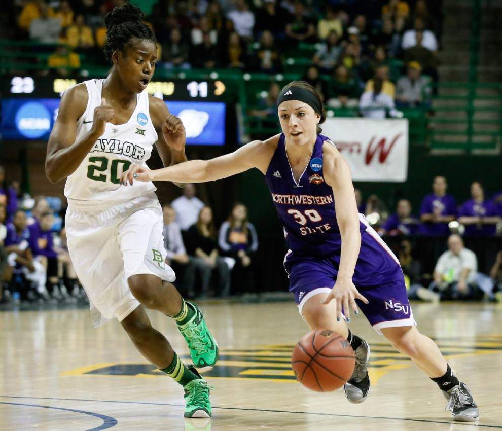 Northwestern State women come up short against No. 2 seed Baylor _lowres