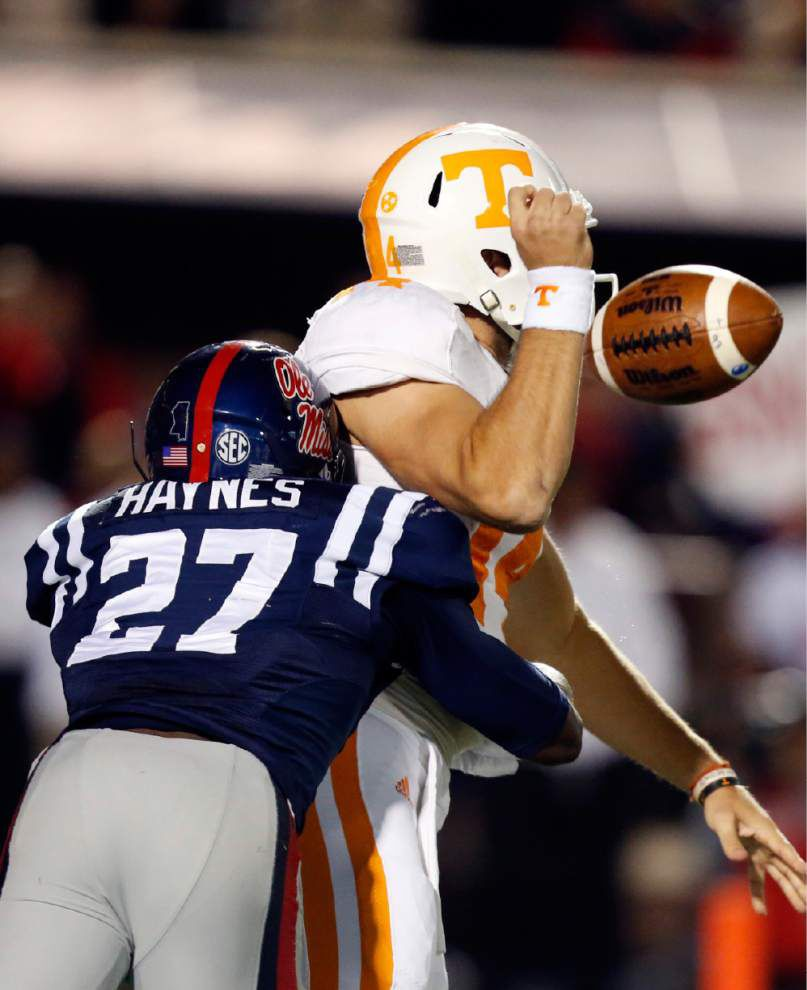 Ole Miss relies on tough defense for its rise toward top of SEC _lowres